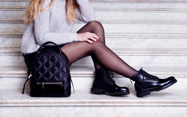 Фото №2 - Выбираем колготки под обувь: видеосоветы от стилиста