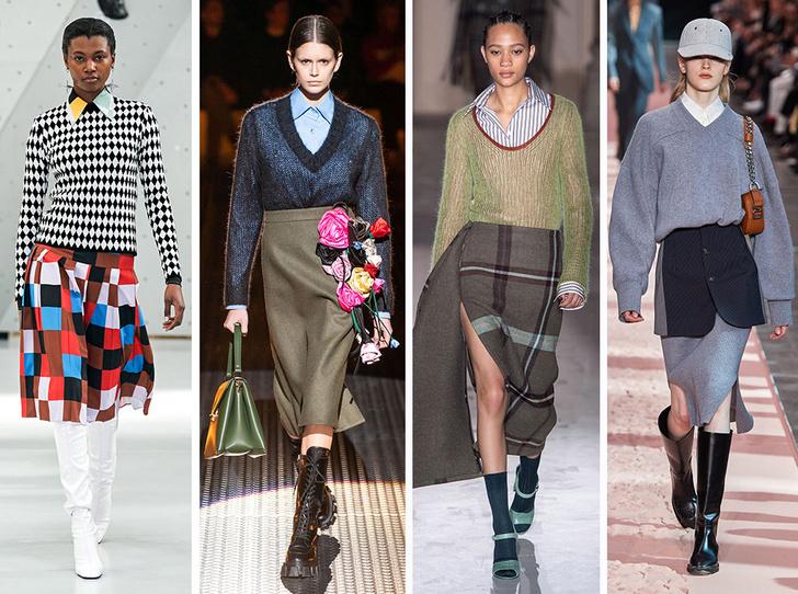 Фото №4 - 10 трендов осени и зимы 2019/20 с Недели моды в Милане