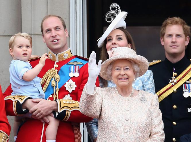 Фото №31 - Принц Джордж Кембриджский: три года в фотографиях