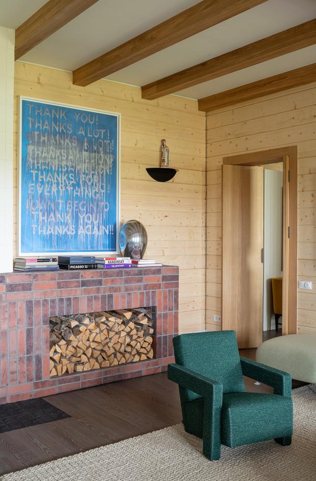 Фото №15 - Современная дача в деревянном доме в Суздале