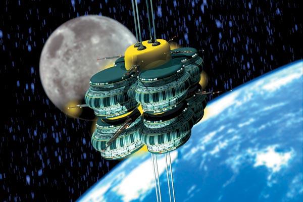 Фото №1 - Космический «фуникулер»