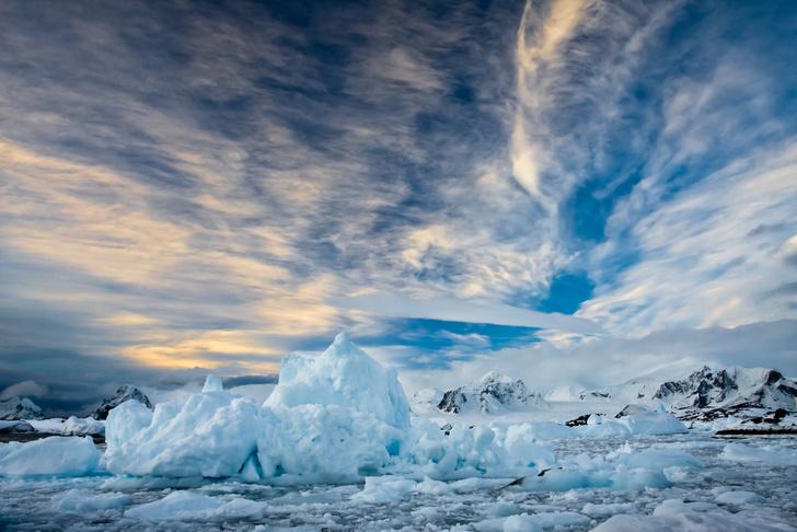 Фото №1 - Перед Новым годом температура на Северном полюсе достигла плюсовой отметки