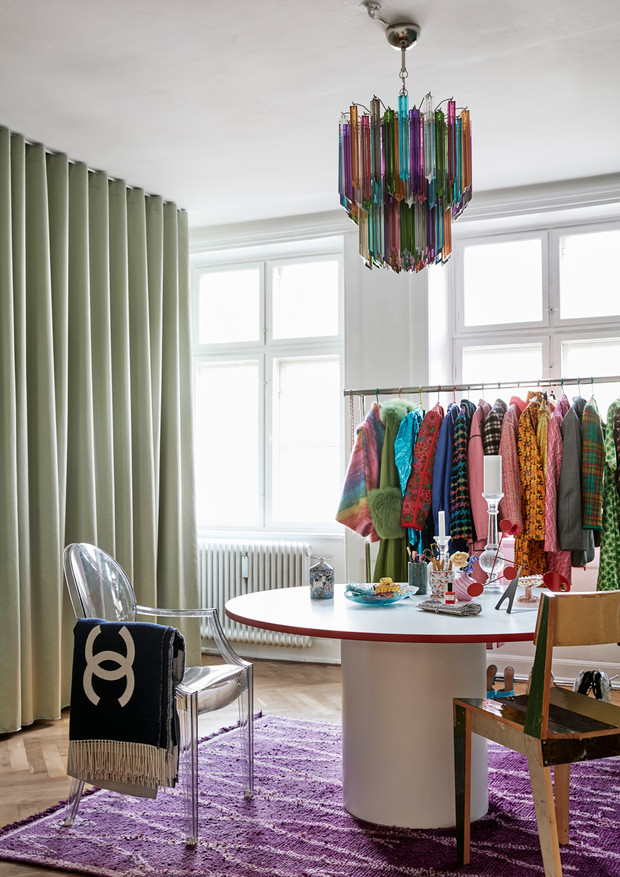 Фото №5 - Квартира модного стилиста Эмили Синдлев в Копенгагене