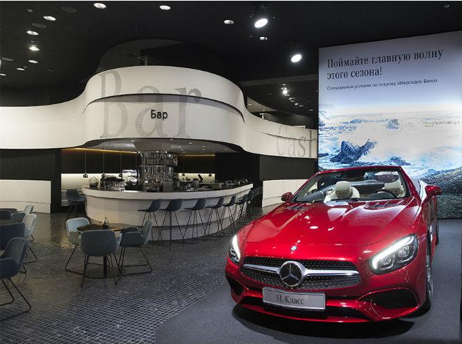 Фото №8 - Открытие нового шоурума Mercedes-Benz