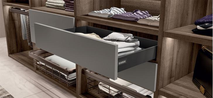 Фото №2 - Первая гардеробная система от Scavolini