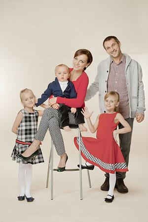 Фото №1 - Мария Макарова: семейная жизнь «Маши» из «Медведей»