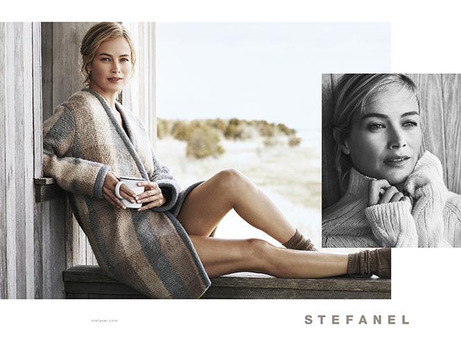 Фото №1 - Кэролин Мерфи - лицо рекламной кампании STEFANEL