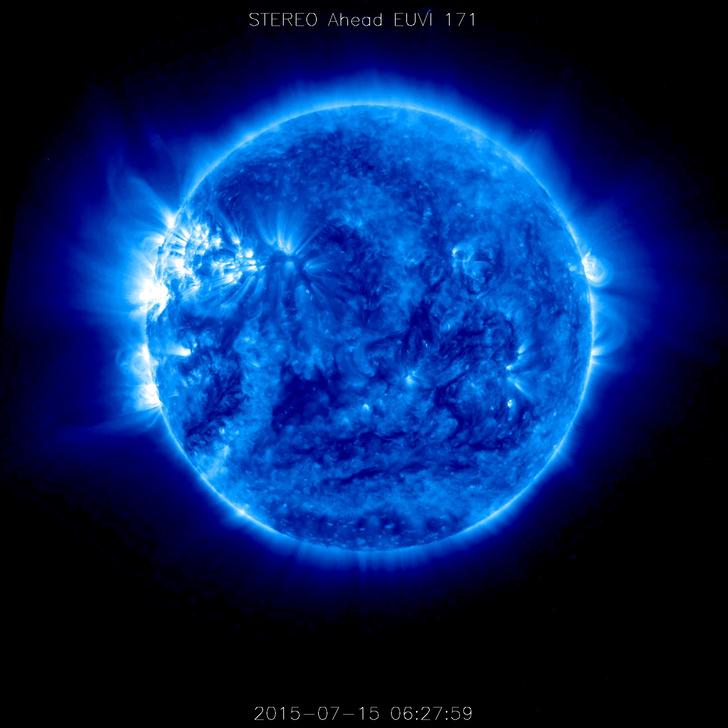 Фото №1 - Космический телескоп НАСА снял обратную сторону Солнца
