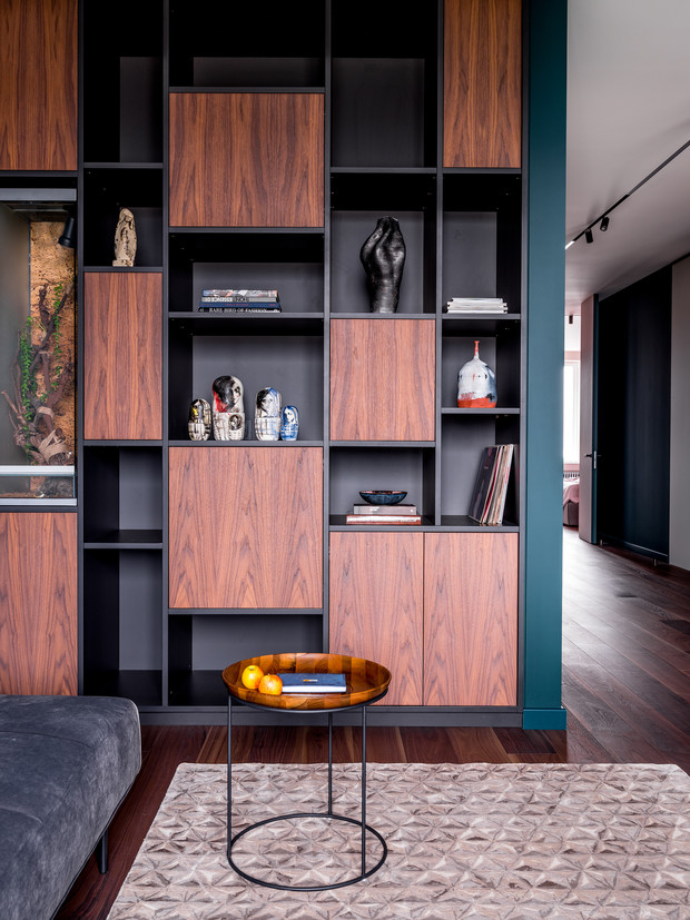 Фото №8 - Современная квартира со свободной планировкой 120 м²
