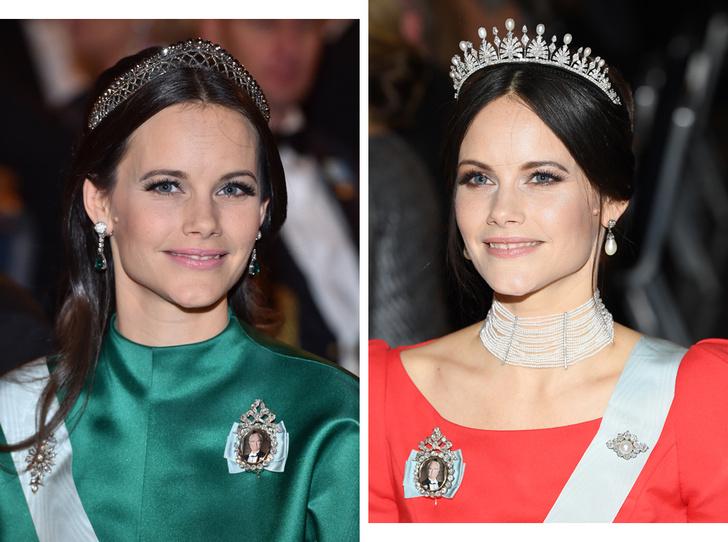 Фото №1 - Принцесса из сказки: самые эффектные выходы Софии Шведской в тиарах