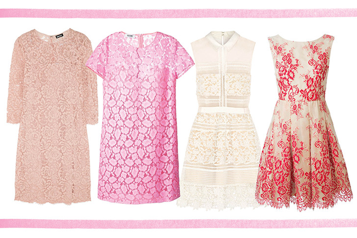 Платье, DKNY; платье, Moschino Cheap & Chic; платье, Self Portrait; платье, Alice+Olivia