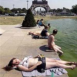 Фото №2 - Европу одолела жара
