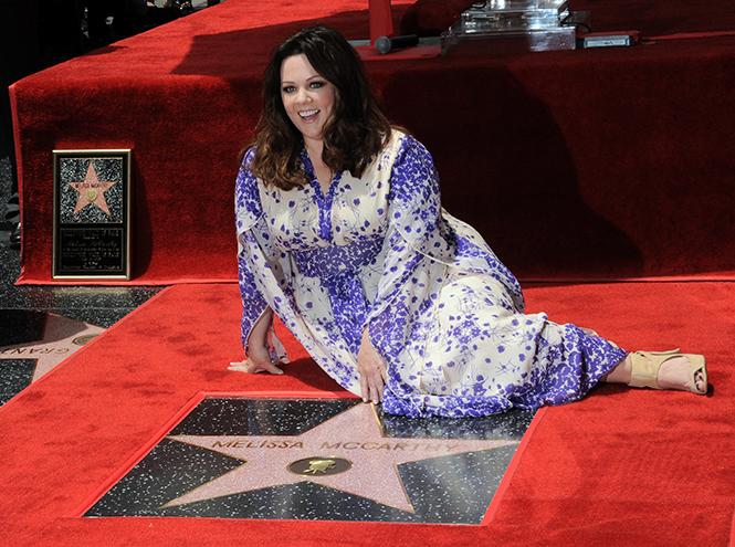 Фото №8 - Мелисса МакКарти удостоена звезды на Аллее cлавы