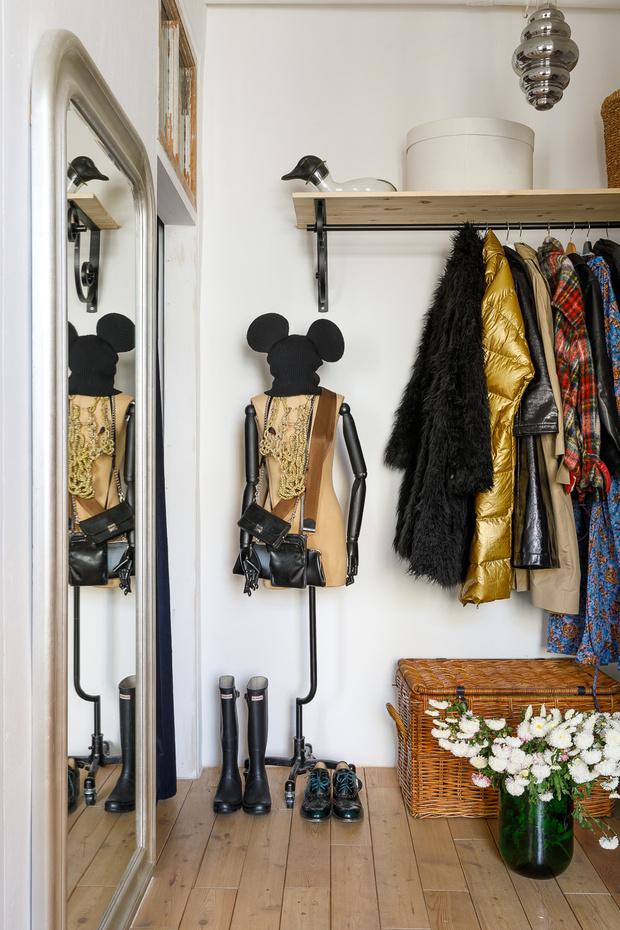 <p>Петербургская квартира художницы Натальи Пивко и скульптора Дениса Прасолова.</p>