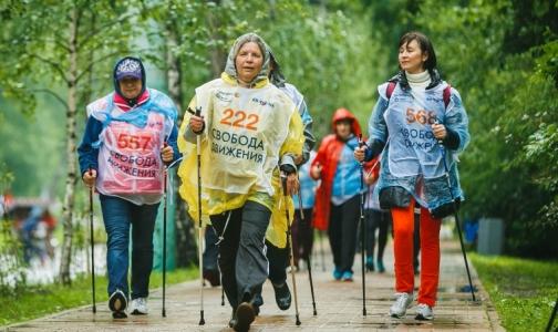 Фото №1 - Любители скандинавской ходьбы устроят соревнование в парке Победы