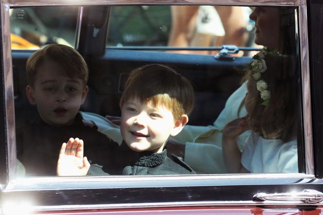 Фото №7 - Подружки и пажи королевских кровей на свадьбах: от принца Джорджа до юной Лилибет