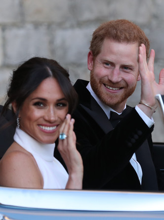 Фото №10 - После венчания: вторые свадебные платья королевских невест