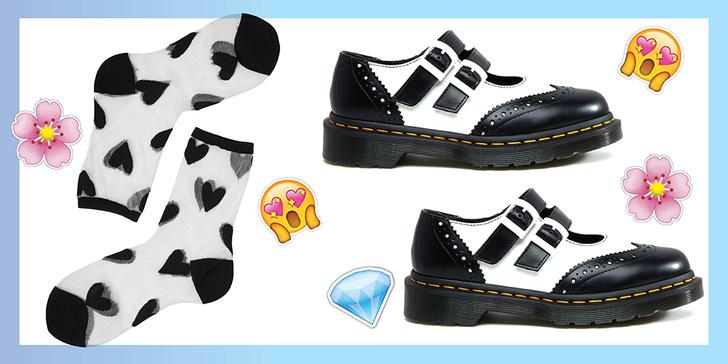 Фото №5 - Как сочетать носки с босоножками, туфлями и ботинками