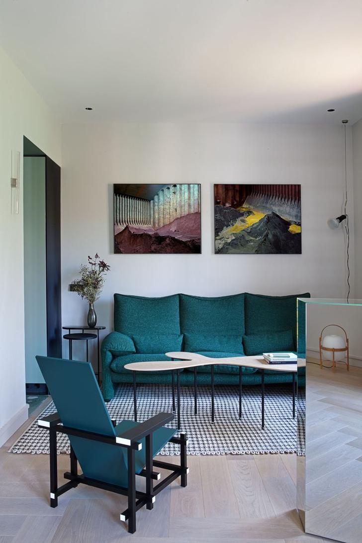 Фото №4 - Современная квартира в доме 1930-х годов в Мадриде