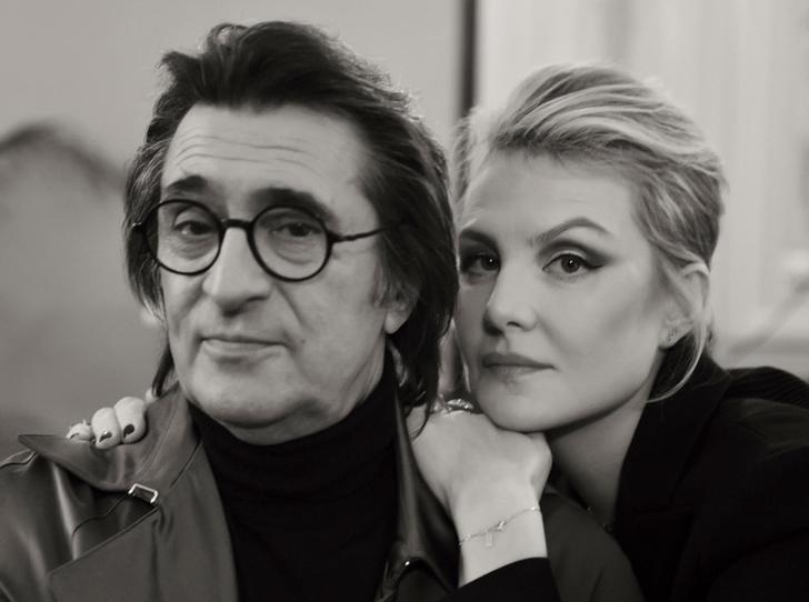 Фото №1 - Рената Литвинова и Юрий Башмет: теплый разговор перед Новым годом