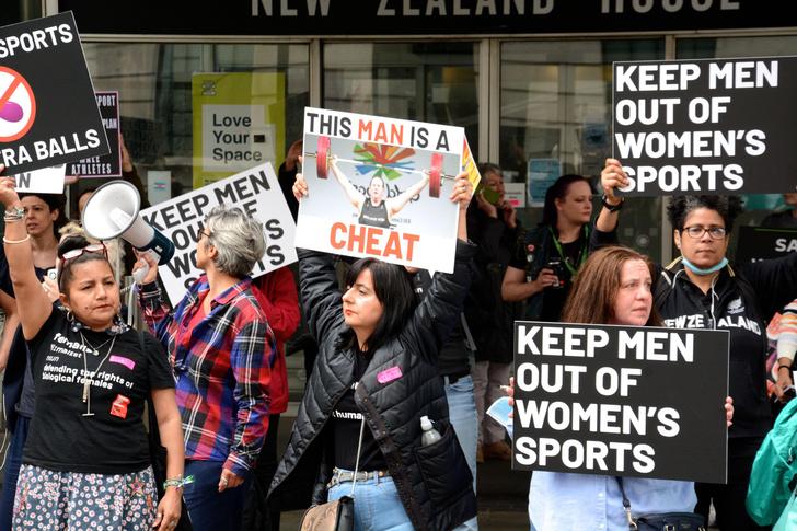 Фото №4 - Битва полов на Олимпиаде: за медали поборется женщина— в прошлом мужчина-штангист
