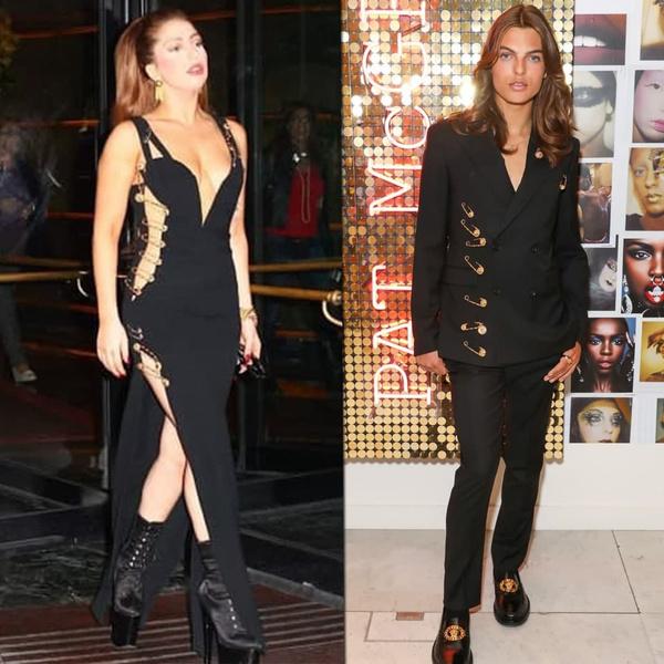 Фото №4 - Острые предметы: как 24 булавки на платье Versace завоевали весь мир