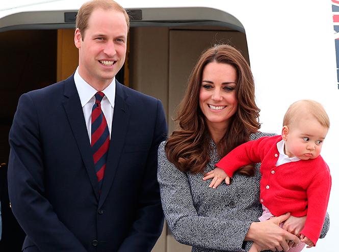 Фото №21 - Принц Джордж Кембриджский: три года в фотографиях