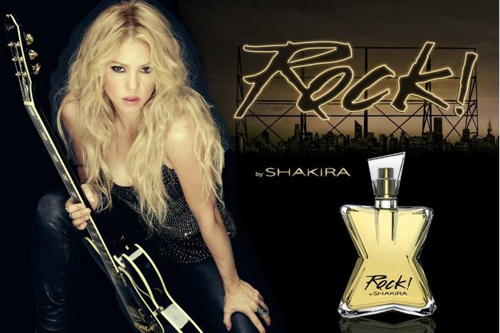 Фото №1 - Шакира выпустила новый аромат Rock! by Shakira