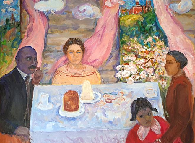 Фото №1 - Выставка «Лидия. Африканские сны» в Музее Востока