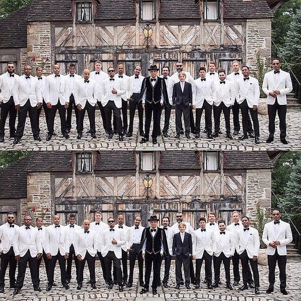 Фото №5 - Эшли Симпсон и Эван Росс наконец-то поделились свадебными фото