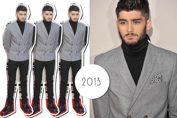 Эволюция стиля Зейна Малика: 2013 год