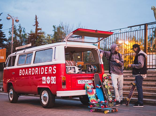 Фото №2 - Бесплатные лонгборд-тренировки от Boardriders