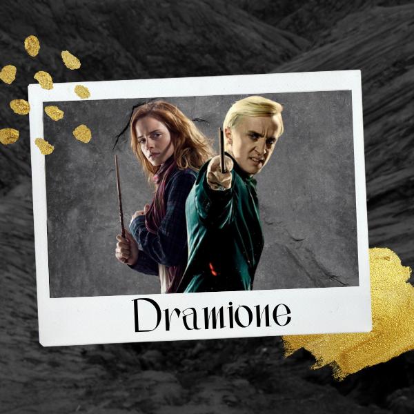 Фото №1 - «Гарри Поттер»: Почему Малфой и Гермиона были бы идеальной парочкой