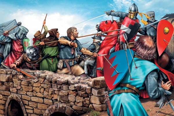 Фото №1 - Гвельфы и гибеллины: тотальная война
