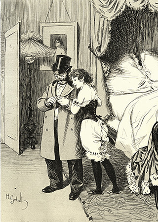 XIX век: женские панталоны