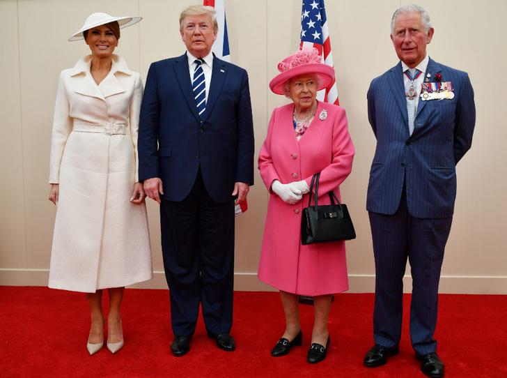 Фото №3 - Американская королева: как и зачем Мелания Трамп копирует Елизавету