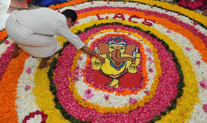 Фото №1 - Краски Индии