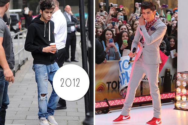 Эволюция стиля Зейна Малика: 2012 год
