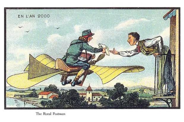 Фото №15 - Как люди изображали наше время сто лет назад