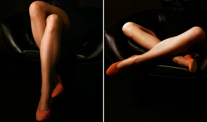 Фото №1 - Язык женских ног: определи характер девушки по тому, как она сидит