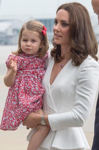 Фото №14 - Принцесса Шарлотта Кембриджская: третий год в фотографиях