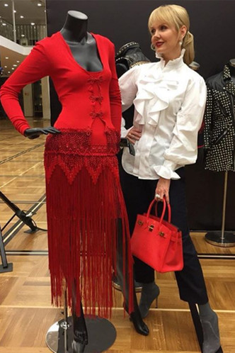 Фото №7 - Валерия пришла на день рождения дочери Пригожина в старом платье