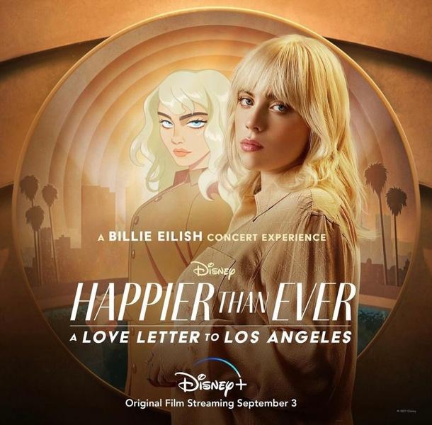 Фото №2 - Билли Айлиш простилась с прошлым в «Happier Than Ever: A Love Letter to Los Angeles»