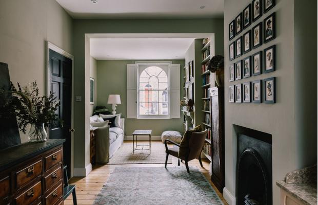 Фото №1 - Отреставрированный дом 1828 года в Лондоне