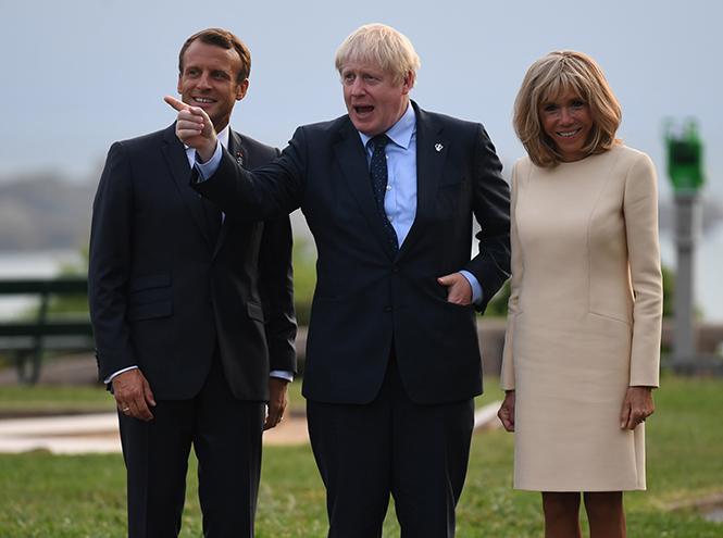 Фото №3 - Как чета Макрон встретила мировых лидеров на саммите G7