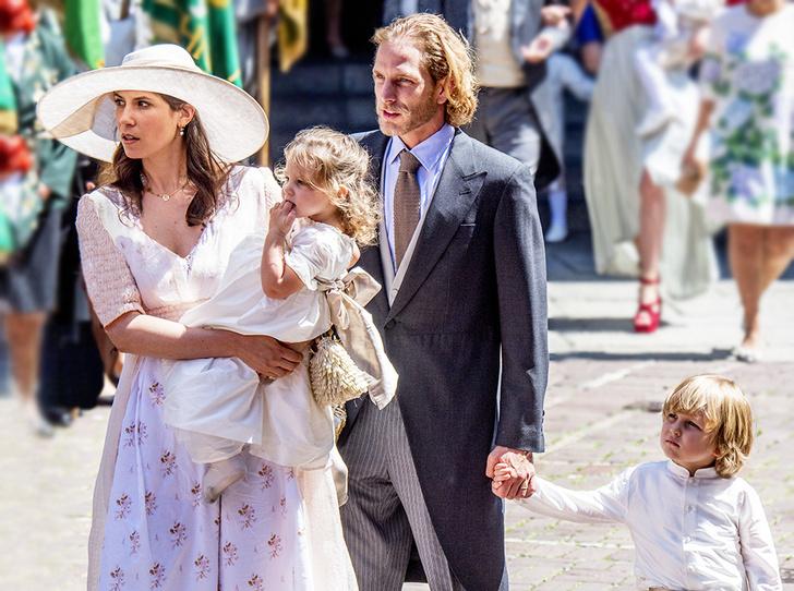 Фото №4 - Внук Грейс Келли и его жена стали родителями в третий раз