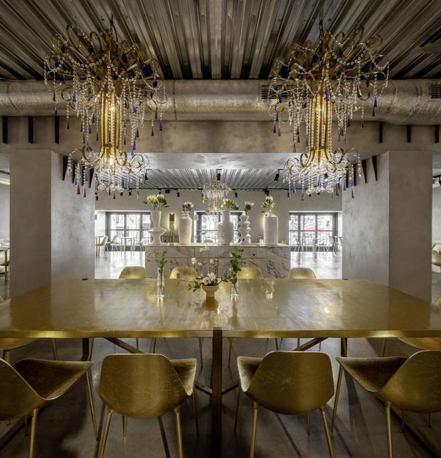 Фото №1 - Редкая птица: ресторан по проекту Натальи Белоноговой в Киеве