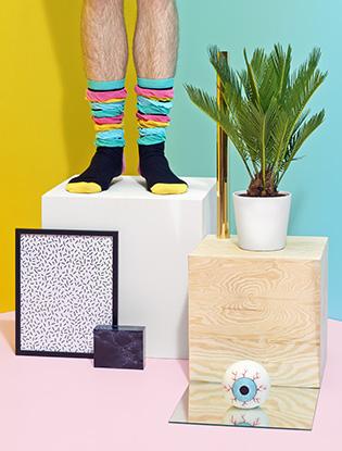 Фото №4 - В SOHO появилась коллекция носков Happy Socks
