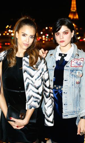 Фото №7 - Елена Перминова, Джессика Альба и другие звёзды на вечеринке Longchamp