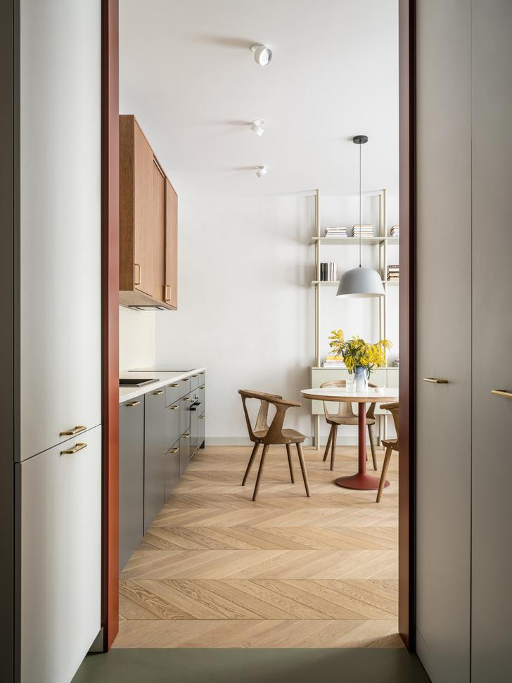 Фото №5 - Лаконичная квартира в теплых натуральных оттенках